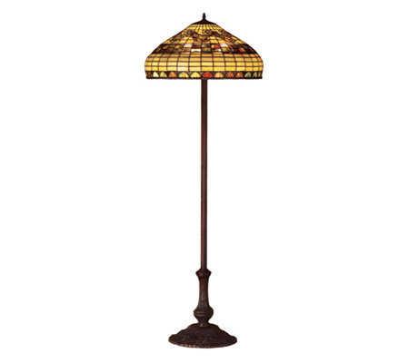 Tiffany Style Edwardian Floor Lamp