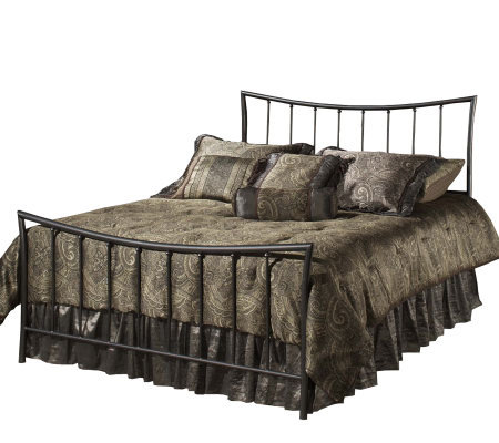 Hillsdale Furniture Edgewood Twin Bed-MagnesiumPewter Finish