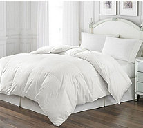 Royal Luxe White Goose Feather FL/QN Comforter - H218908