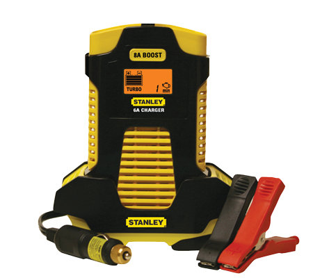 Stanley 6-AMP Battery Charger with 8-AMP Boost