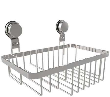 Lavish Home Wall Mounted Shower Caddy with Suction Cups