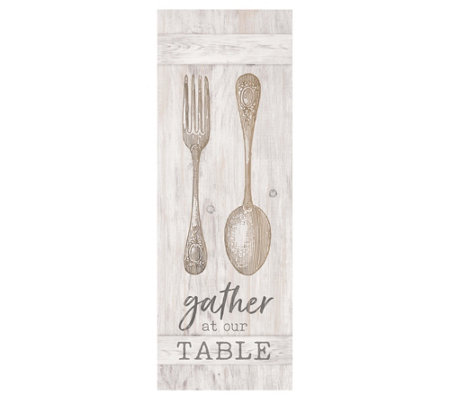 Gather At Our Table Wall Art