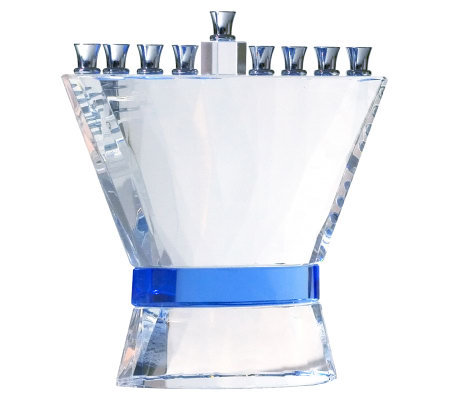 Copa Judaica Blue Ribbon Menorah