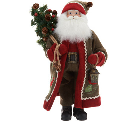 "Choice of 19"" Decorative Santa by Valerie"