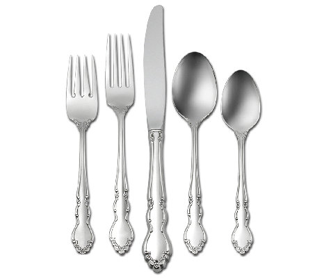 Oneida Dover 18/10 Stainless Steel 20-Piece Flatware Set