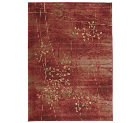 "Somerset Decorative Floral 7'9"" x 10'10"" Rug byNourison"