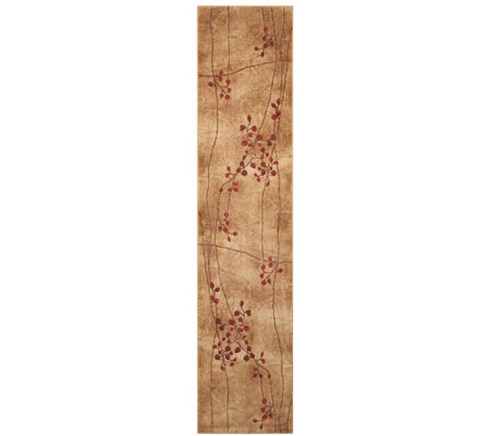 "Nourison Somerset Latte 2'3"" x 10' Runner"