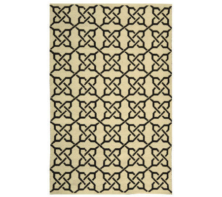 Thom Filicia 6' x 9' Tioga Recycled Plastic Outdoor Rug