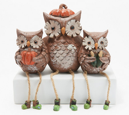 Plow & Hearth Tabletop Sitting Animal Family