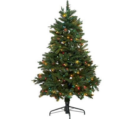"""As Is"" Hallmark 5' Heritage Tree w/ Quick Set Technology"
