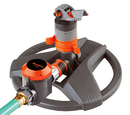 Gardena Turbo Drive Silent Sprinkler with WaterTimer