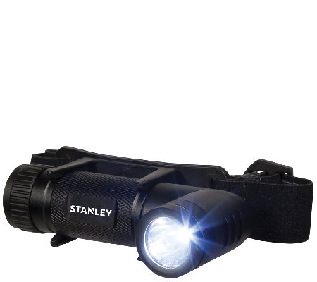Stanley 220 Lumen LED Twist Headlamp and Flashlight Combo