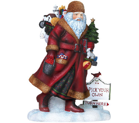 Limited Edition Door County Santa Figurine by Pipka