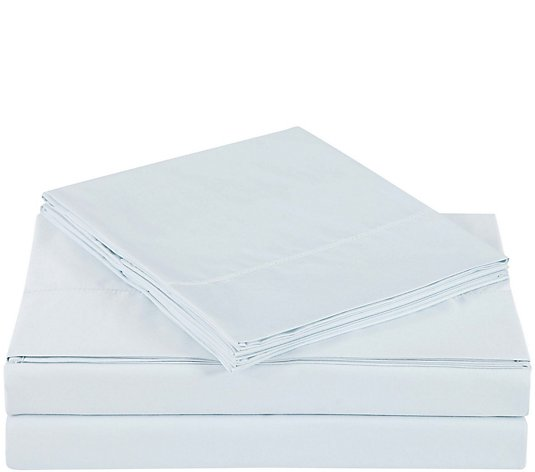 Charisma 610TC Solid Cotton Queen Sheet Set