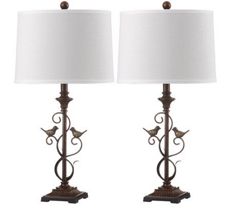 "Birdsong 28"" Table Lamp by Valerie"