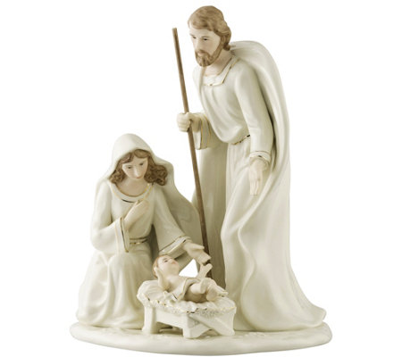Belleek Nativity Family - Large