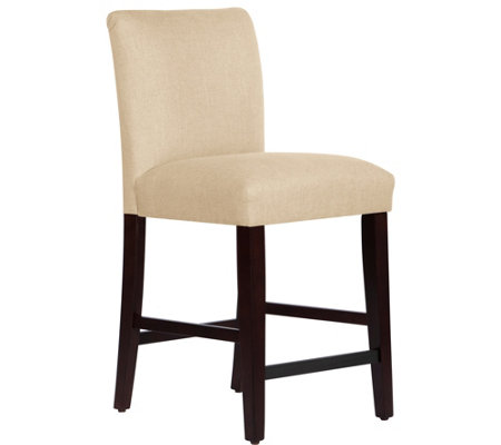Skyline Furniture Linen Counter Stool