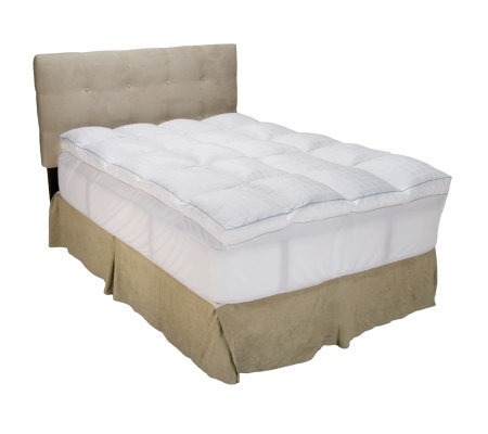"HoMedics King Memorelle Mattress Topper w/ 3"" Gusset"