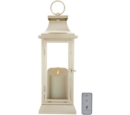 "Luminara 16"" Heritage 2.0 Lantern with Remote"