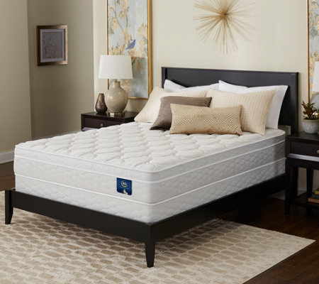 Serta Brookgate Euro Top Twin Mattress Set