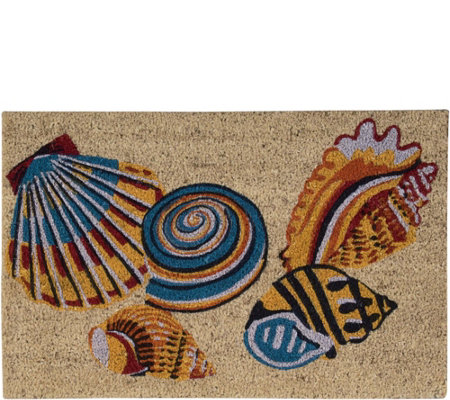 Waverly Greetings Tossed Shells 2' x 3' AccentRug by Nourison