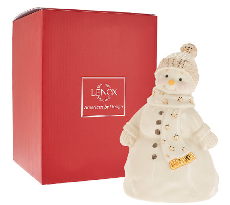 "Lenox 7.25"" Recordable Porcelain Figurine with Gift Box"