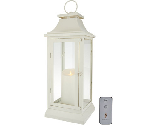 "Luminara 19"" Heritage 2.0 Lantern with Remote"