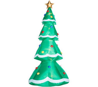 indoor outdoor kringle express christmas tree inflatable h216213