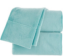 Berkshire Blanket Velvet Soft Cozy King Sheet Set - H216813