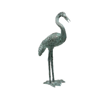 Design Toscano Downward Gazing Garden Crane - Medium