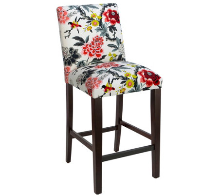 Skyline Furniture Candid Moment Ebony Bar Stool