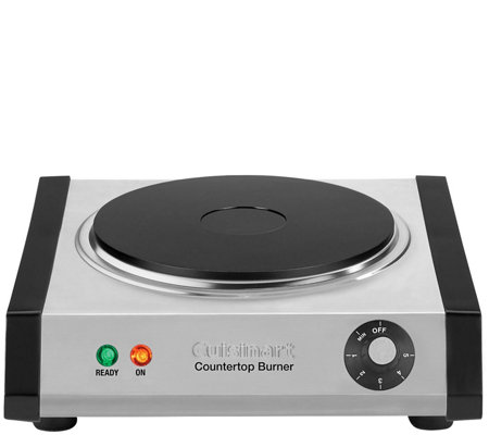 Cuisinart Single Cast-Iron Burner for Countertop Use