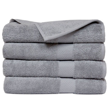 Elegance Spa Oversized Cotton Set of 4 Oversized Bath Sheets