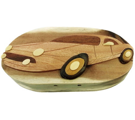 Carver Dan S Sports Car Puzzle Box With Magnetclosures
