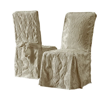 Sure Fit Matelasse Damask Dining Room Chair