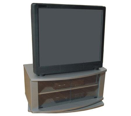36 Swivel Tv Stand Greystone By Ameriwood Qvc Com