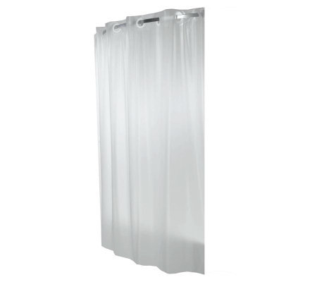 Hookless Frost Shower Curtain Liner