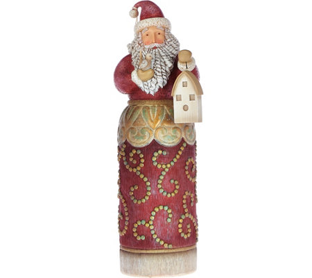 Jim Shore Rivers End Collection Oversized Santa Figurine