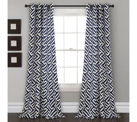 Giovana Room Darkening Set of 2 Window Curtainsby Lush Decor