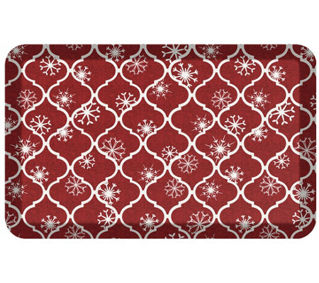Newlife By Gelpro 20 X32 Holiday Trellis Designer Comfort Mat