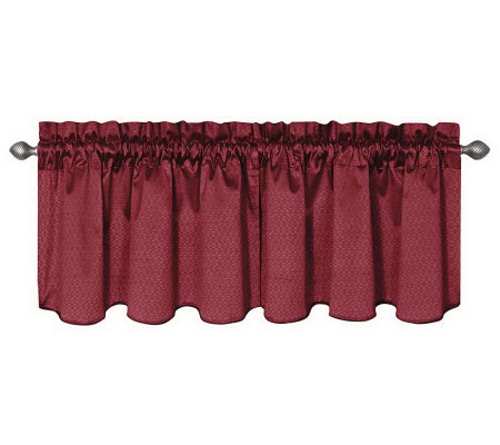 "Eclipse 42"" x 21"" Canova Blackout Window Valance"