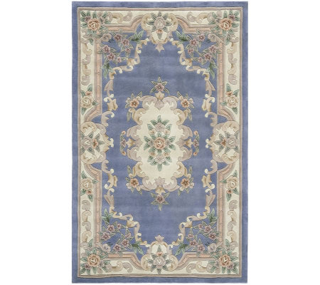 Rugs America New Aubusson 2' x 4' Wool Accent Rug
