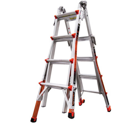 Little Giant Revolution 17' Ladder with RatchetLevelers