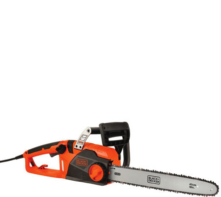 "Black & Decker 15-amp 18"" Corded Chainsaw"