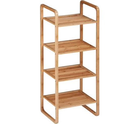 Honey-Can-Do 4-Tier Bamboo Shelf