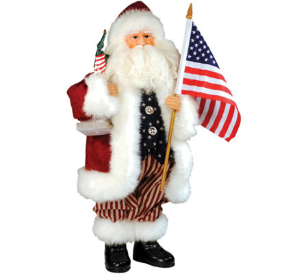 "15"" American Santa by Santa's Workshop"