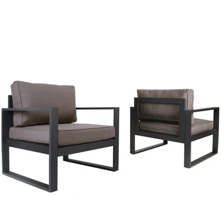 Real Flame Baltic Outdoor Chair - Set of 2