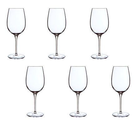 Luigi Bormioli 20-oz Vinoteque Ricco Glasses -Set of 6