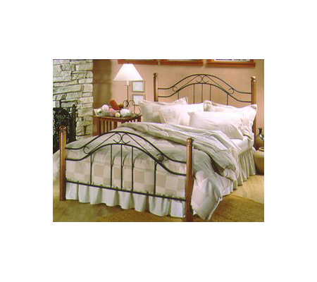 Hillsdale House Winsloh Spindle Headboard withTwo Posts - Kin