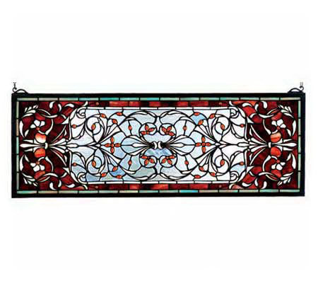 Tiffany Style Chelsea Transom Window Panel